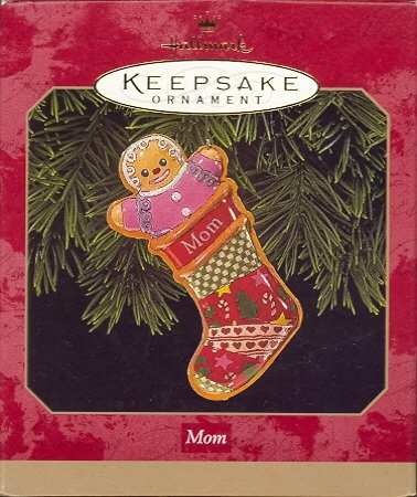 Hallmark Ornament ~ Mom 1999 ~ Gingerbread