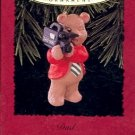 Hallmark Ornament ~ Dad 1996 ~ Bear
