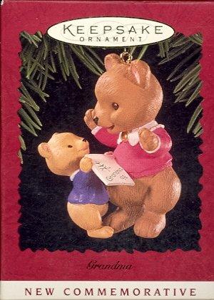 Hallmark Ornament ~ Grandma 1996 ~ Bear