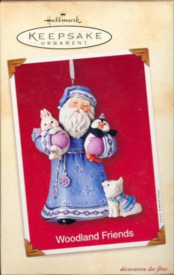 Hallmark Ornament ~ Woodland Friends 2002