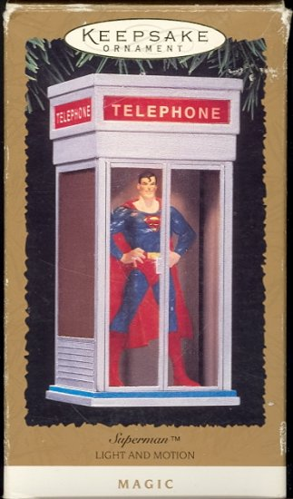 Hallmark Magic Ornament ~ Superman 1995