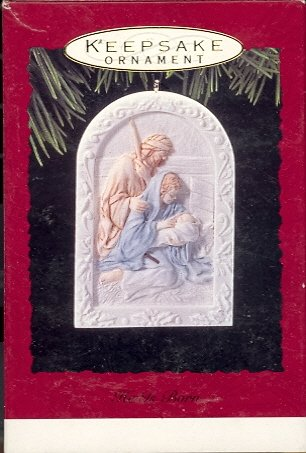 Hallmark Ornament ~ He Is Born 1993