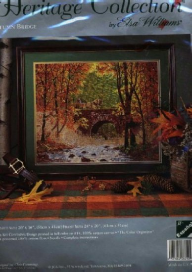 Autumn Bridge ~ Needlepoint Kit