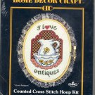 I Love Antiques ~ Cross-Stitch Kit