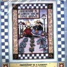 Friendship is a Garden ~ Cross-Stitch Kit ( Bunnies )