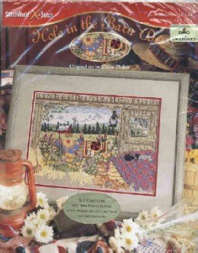 Hole in the Barn Door ~ Cross-Stitch Kit