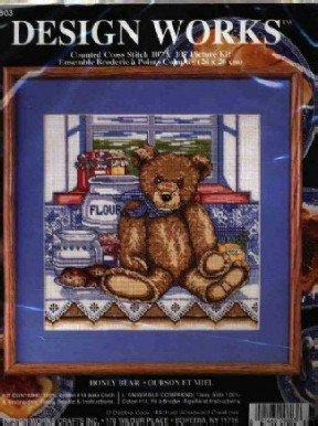 Honey Bear ~ Cross-Stitch Kit