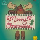 Merry Christmoose ~ Cross-Stitch Kit