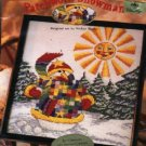 Patchwork Snowman ~ Cross-Stitch Kit