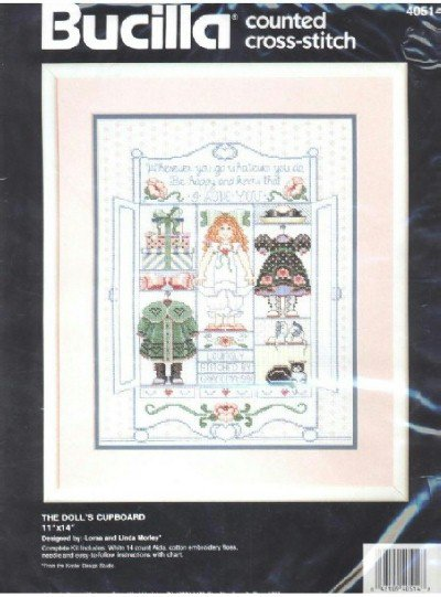 The Dolls Cupboard ~ Cross-Stitch Kit