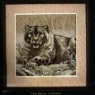 The Snow Leopard ~ Cross-Stitch Kit