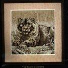 The Snow Leopard ~ Cross-Stitch Kit