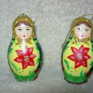 2 Russian Look Nesting Ornaments