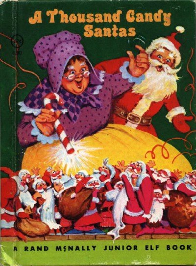 A Thousand Candy Santas ~ Book 1977