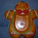 Ceramic Gingerbread Candy Dish