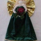 Christmas Angel for a Wall or Door ~ Green Dress