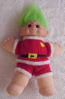 Christmas Troll ( 14 inches tall )