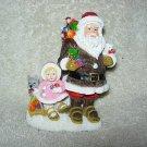 Eskimo Santa & Snow Baby Figurine