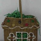 Gingerbread House Basket