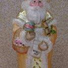 Old World Santa ~ Blown Glass Ornament