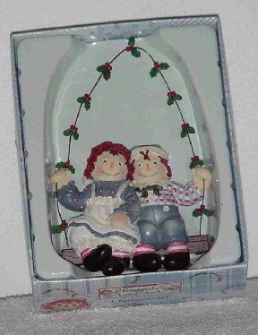 Raggedy Ann & Andy Ornament by Kurt Adler