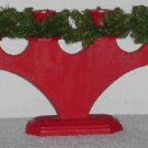 Swedish Christmas Candleholder ~ Hand-made in Sweden