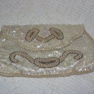 Vintage Sequin & Beaded Handbag Purse
