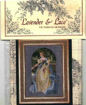 Queen Anne's Lace ~ Lavender & Lace Victorian Designs ~ Cross-Stitch Chart