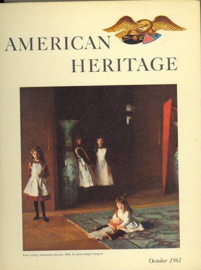 American Heritage Book ~ October 1961