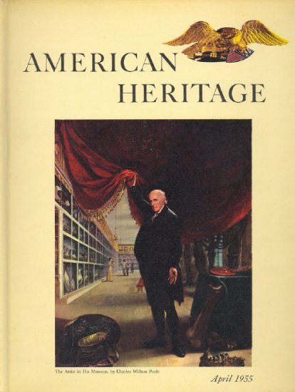 American Heritage Magazine Book ~ April 1955 ~ VI 3