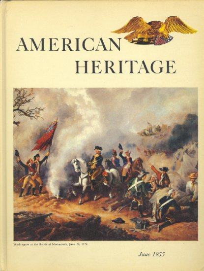 American Heritage Magazine Book ~ June 1955 ~ VI 4