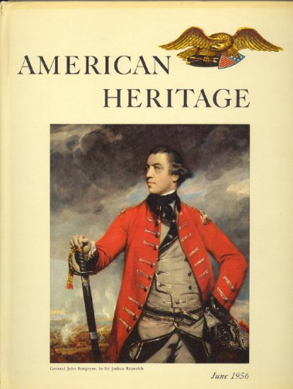 American Heritage Magazine Book ~ June 1956 ~ VII 4