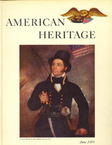 American Heritage Magazine Book ~ June 1959 ~ X 4