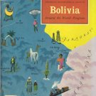 Bolivia ~ Around the World Program Book ~ 1959