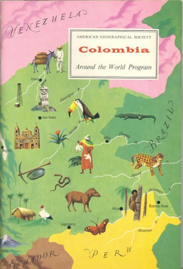Columbia ~ Around the World Program Book ~ 1959