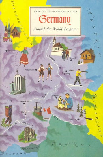 Germany ~ Around the World Program Book ~ 1960