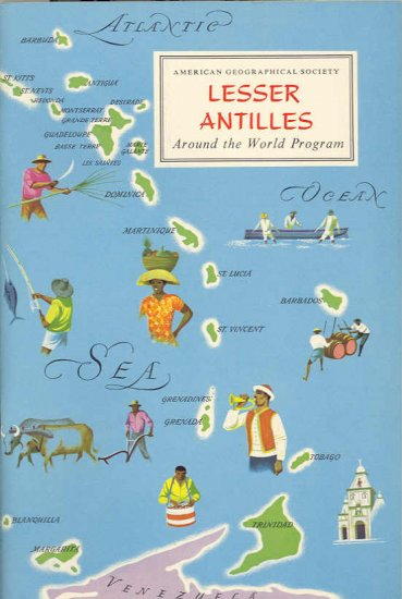 Lesser Antilles ~ Around the World Program Book ~ 1959