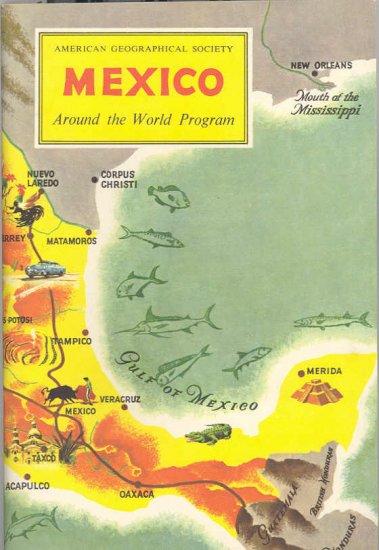 Mexico ~ Around the World Program Book ~ 1955