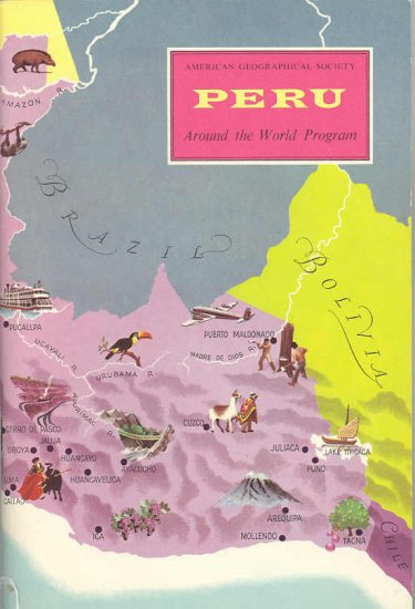 Peru ~ Around the World Program Book ~ 1958