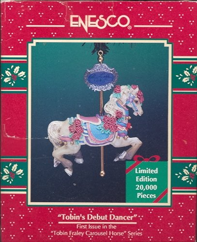 Enesco Ornament ~ Tobin's Debut Dancer ~ Carousel Horse 1996