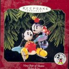 Hallmark Ornament ~ New Pair of Skates 1997 ~ Mickey and Minnie Mouse