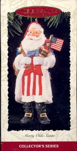 Hallmark Ornament ~ Merry Olde Santa 1996 ~ Merry Olde Santa series