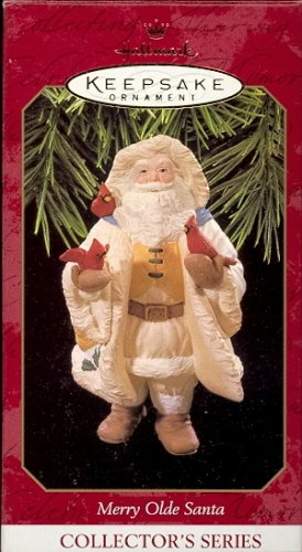 Hallmark Ornament ~ Merry Olde Santa 1997 ~ Merry Olde Santa series