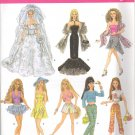 Barbie Sewing Pattern ~ Simplicity 4719