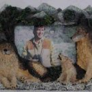 Figi ~ TimberWolves Photo Frame ~ Bear Mountain Collection
