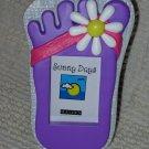 Purple Flip Flop Photo Frame