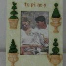 Topiary Picture Frame ~ 4 x 6 photo