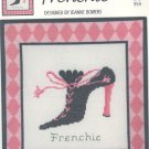 Frenchie ( Shoe ) ~ Cross-stitch Chart