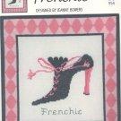Frenchie ( Shoe ) ~ Cross-stitch Chart