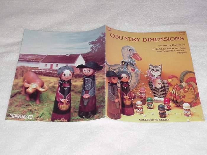 Country Dimensions ~ Decorative Painting Booklet ~ 1984